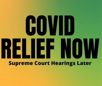 The US Needs Immediate Covid Relief NOT Coney Barrett Hearings