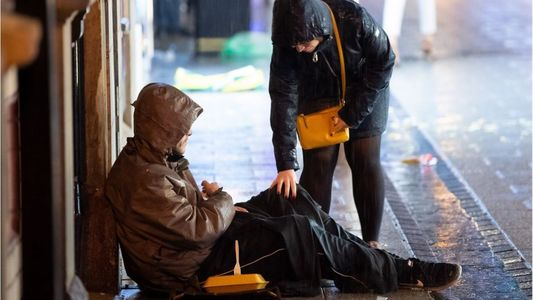 Sheltering  homeless /rough sleepers