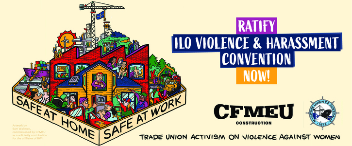 Ratify ILO C190 Violence and Harassment Convention now!