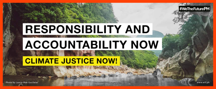 Reform Our DRRM Strategy and Pursue Climate Justice Now
