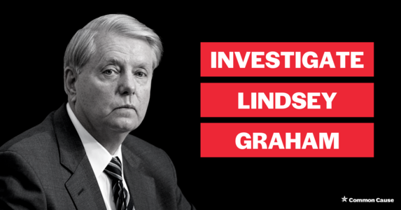INVESTIGATE: Lindsey Graham tried to toss GA ballots