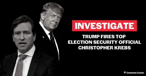 INVESTIGATE: Trump fires election security director for contradicting him