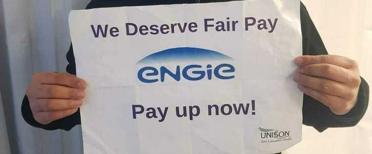 Fair Pay for East Lancs Engie Security Staff