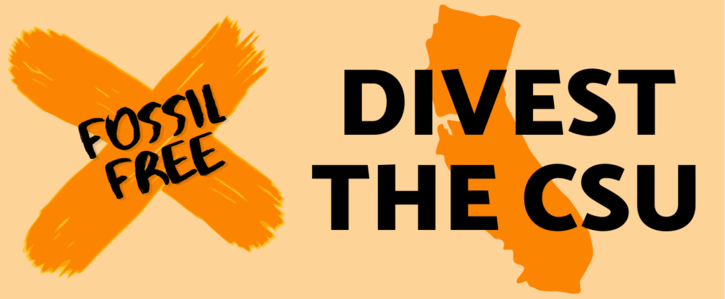 DIVEST the CSU from Fossil Fuels