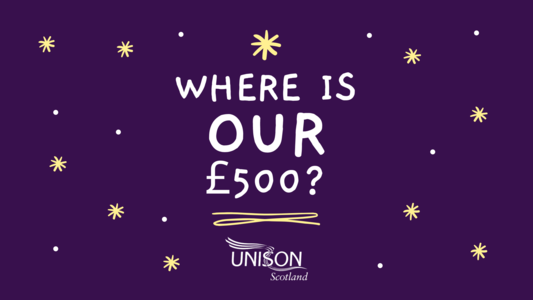Where is our £500?
