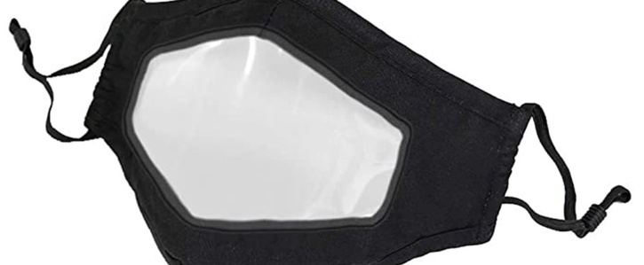Request for retail staff to have clear window on face mask