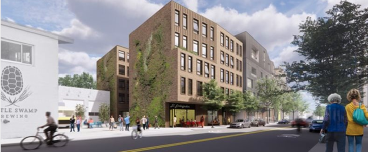 Support for 100% affordable housing at 3371 Washington Street in Jamaica Plain
