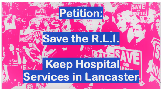 Save the RLI - Keep Hospital Services in Lancaster