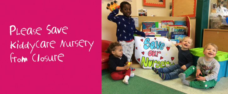 Save Kiddycare Nursery in Mount Pleasant Mail Centre from closure