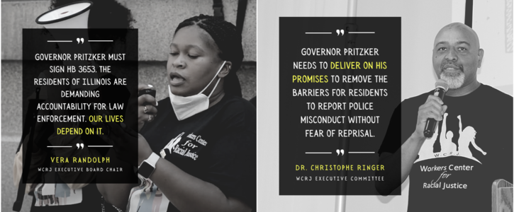 Demand that Governor Pritzker Sign the Illinois Black Caucus' Racial Justice Omnibus Bill