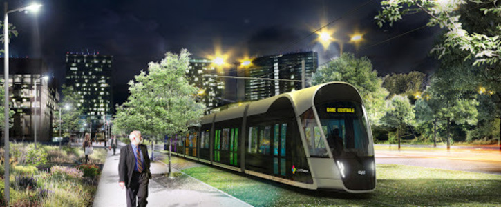 Tramways suspendus au Luxembourg vers les pays frontaliers