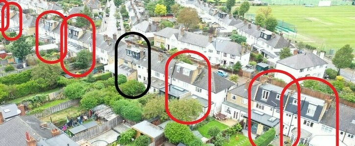 Earlsfield Policy on loft conversions