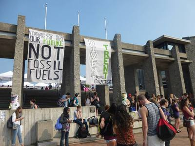 Trent University: Divest From Fossil Fuels!