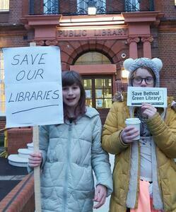 Save our Libraries in Tower Hamlets