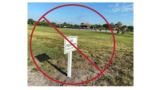Don't abandon bridle trail in Palm Beach Point