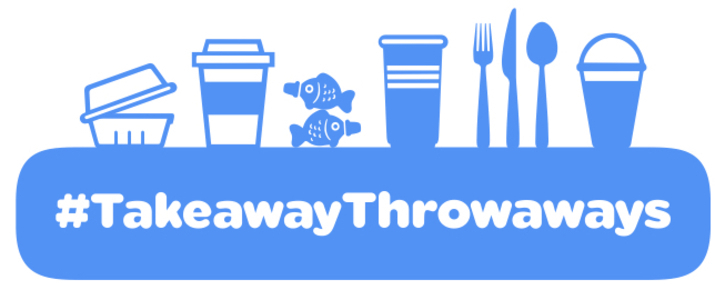 #TakeawayThrowaways for food and drink: End single-use, return to reuse