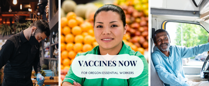 Prioritize Frontline Essential Workers for COVID Vaccine