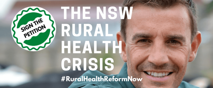 End the crisis in rural and remote health