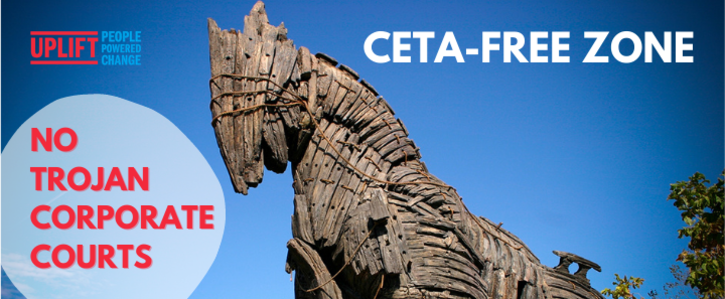 CETA Free Zone: Monaghan Says No To Corporate Courts