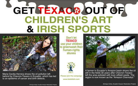 Don't allow Texaco to Use Our Children