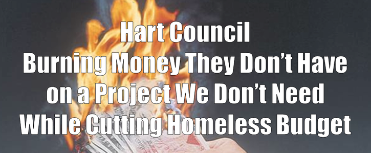 Balance the Budget at Hart District Council by stopping unnecessary spending