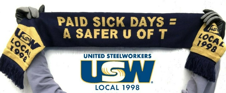 Support paid sick days for all U of T employees