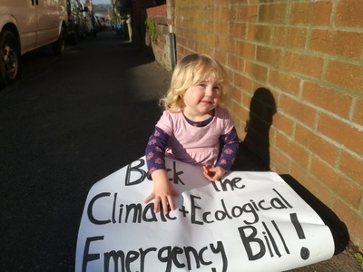 Bristol Council, back the Climate and Ecological Emergency Bill!