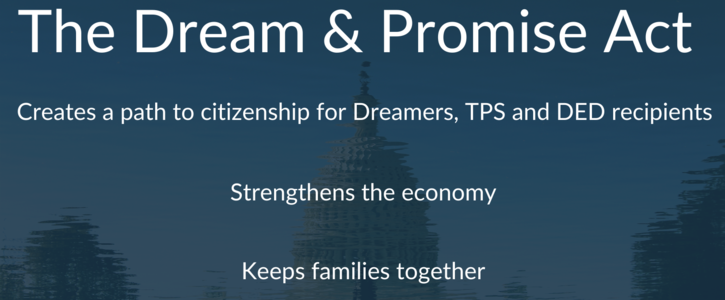 """Tell Congress to Support the """"Dream & Promise Act"""""""