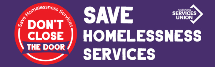 Don't Close the Door – Save Homelessness Services!