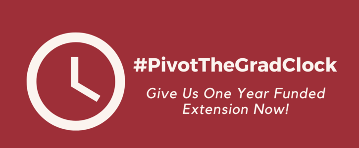 #PivotTheGradClock: Funding Extension Guarantee for All Graduate Students in Queen's