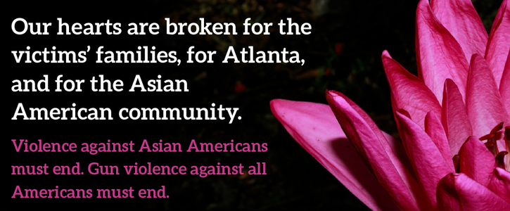 U.S. Senate: After Atlanta, fight racism and gun violence and pass universal background checks!