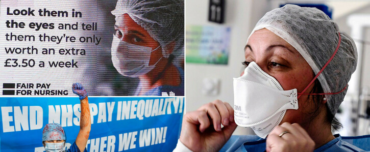 1% payrise for NHS is not good enough!