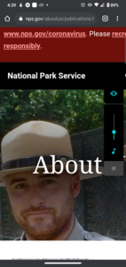 Starting a missing person database for national parks
