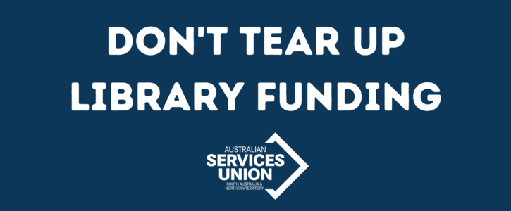 Don't Tear Up Library Funding