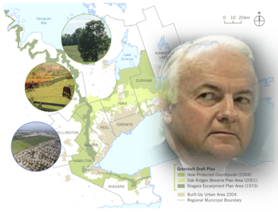 Honour your pledge, un-appoint Norm Sterling as head of the Greenbelt Council