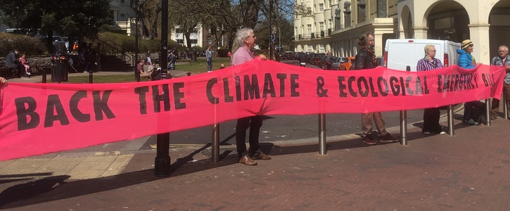 Ask Worthing Council to back new climate & nature law
