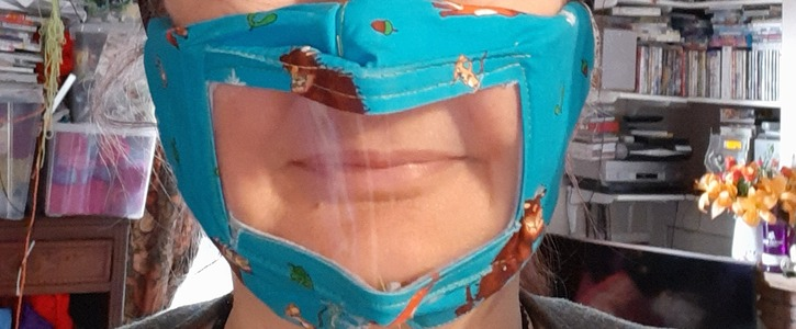 Make Clear masks available for everyone