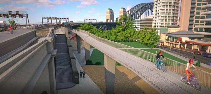 Milsons Point Cycle Ramp