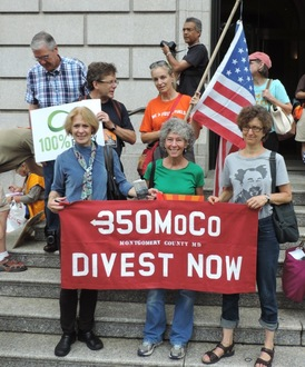 Divest Montgomery County from Fossil Fuels!