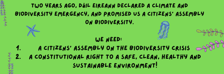 Convene a Citizens Assembly on the Biodiversity Crisis!