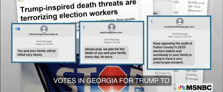 """""""Trump Inspired Death Threats Are Terrorizing Election Workers"""""""