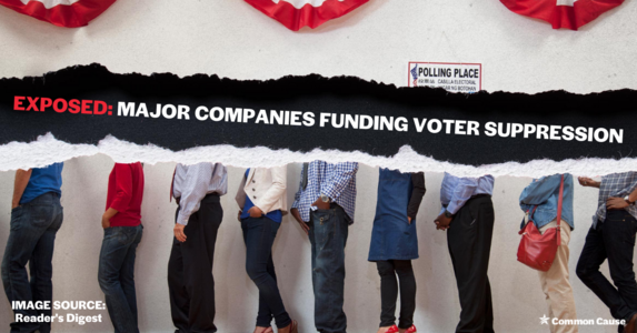 EXPOSED: These corporations fund voter suppression