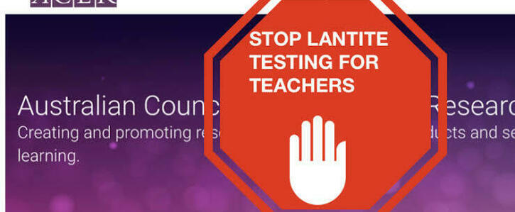 Stop the LANTITE: It's holding our degrees!!