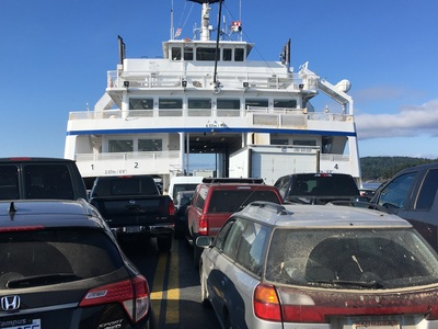 Put another ferry on Route 5
