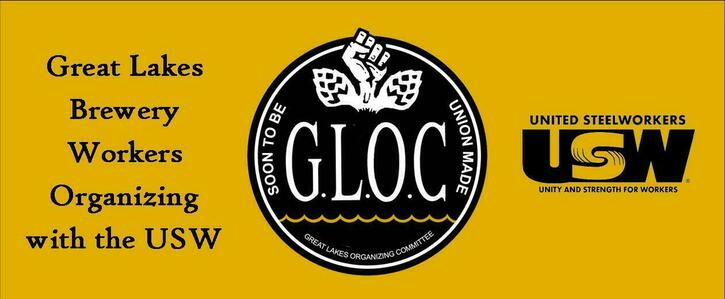 Support Workers Unionizing at Great Lakes Brewing Company