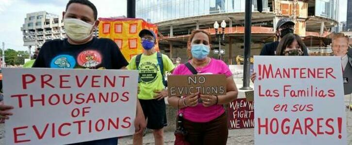 No Evictions! Keep People In Their Homes!