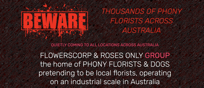 End Phony Florists & Google Misleading Consumers