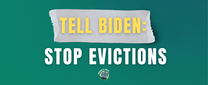 STOP EVICTIONS NOW!