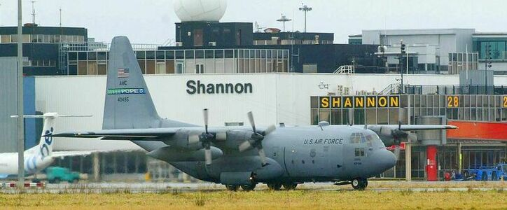 Stop U.S. Military use of Shannon Airport