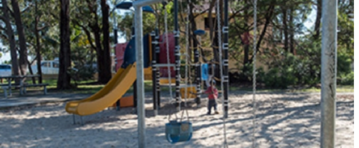 Kids Play Area over 25yrs old - Upgrade Needed!